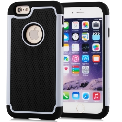 Vakoo Non-Slip Dual Layer TPU Grip Bumper Armor Protective Cases for iPhone 6/6S