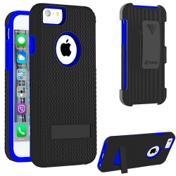 VAKOO For Apple iPhone 6 Plus 5.5 Case Silicone Dual Layer Holster