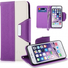 VAKOO iPhone 6/6S Cover Case PU Leather Folio Wallet Cases