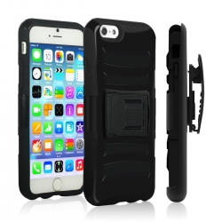 VAKOO For iPhone 6/6S Plus Case Belt Clip 3-in-1 Combo Holster Case