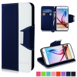VAKOO For Samsung Galaxy S 6 Wallet Case