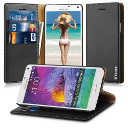 Vakoo Galaxy Note 4 Case Wallet Case
