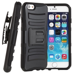 VAKOO For iPhone 5s Case Belt Clip 3-in-1 Combo Holster Case