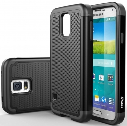 VAKOO Samsung Galaxy S5 Case Armor Premium TPU Hybrid Matte Hard Case for Galaxy