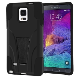 Vakoo Samsung Galaxy Note 4 Slim Fit Kickstand Protective Case