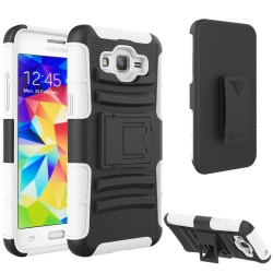 VAKOO Samsung Galaxy Grand Prime Kickstand Armor Case with