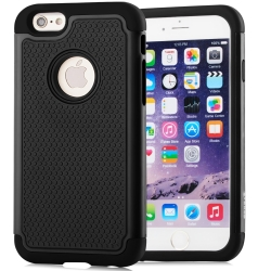 Vakoo iPhone 6/6S Case TPU Grip Bumper Armor Protective Hybrid Matte Hard Cover Cases