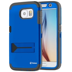 VAKOO For Samsung Galaxy S6 Heavy Duty Case Built-in Screen Protector Case